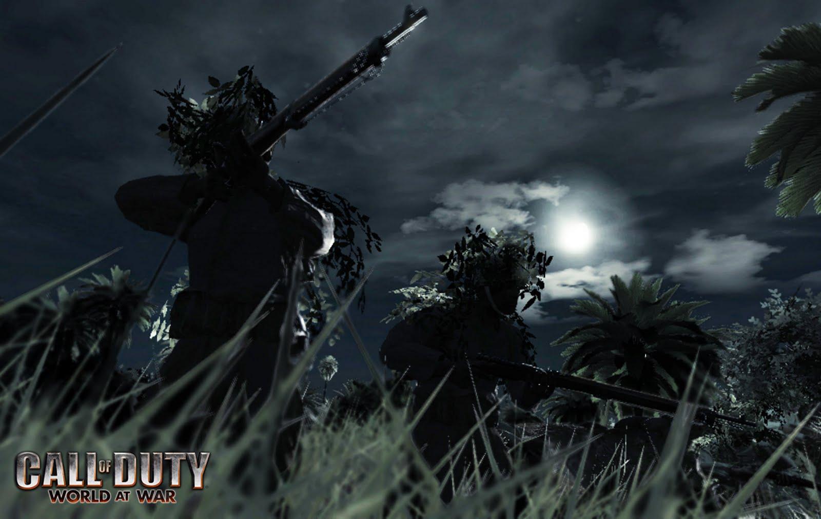Call Of Duty World At War Wallpaper: HD Desktop Wallpaper: Call Of Duty World At War