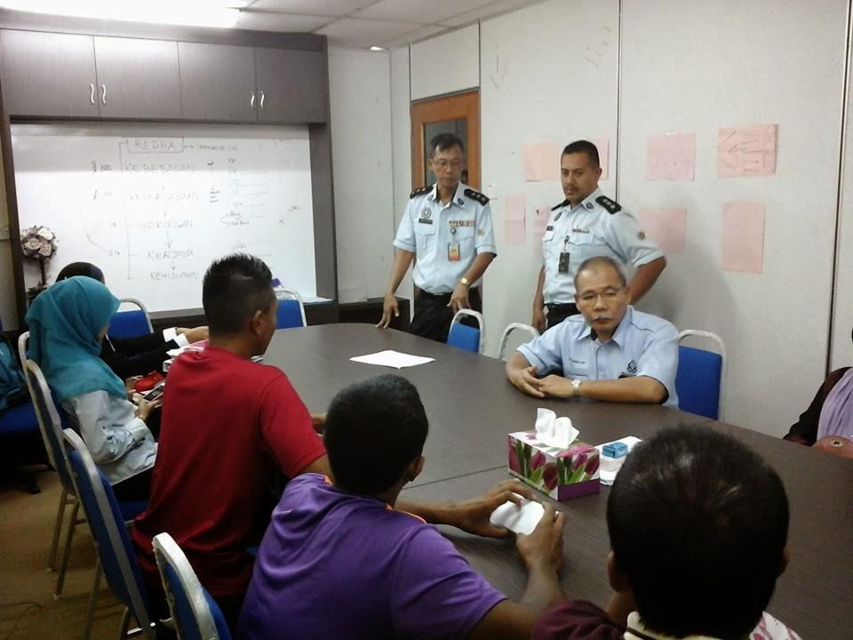 Program motivasi dan intervensi Parol N. Sembilan, Jabatan Penjara Malaysia.