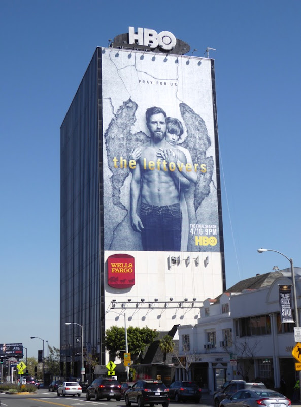 Leftovers giant final season billboard