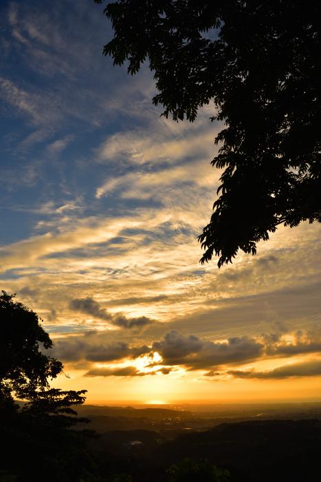 キゴ山の夕焼け