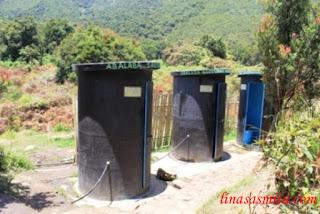 Toilet Gunung Papandayan