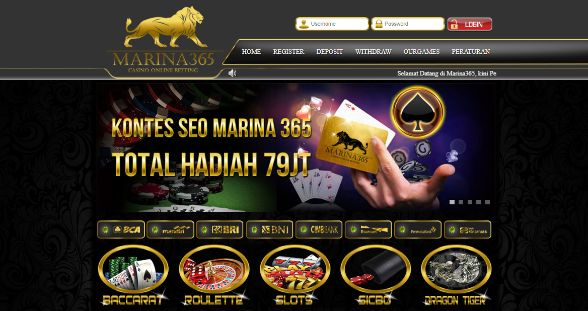 Marina365 Situs Agen Casino Online Terpercaya