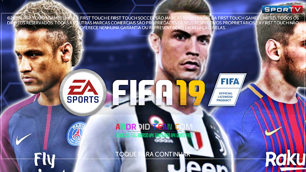 FTS 19 Mod FIFA 19 HD New Offline for Android