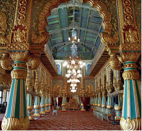 The cultural heritage of india awe inspiring palaces of for Apartment interior design mysore