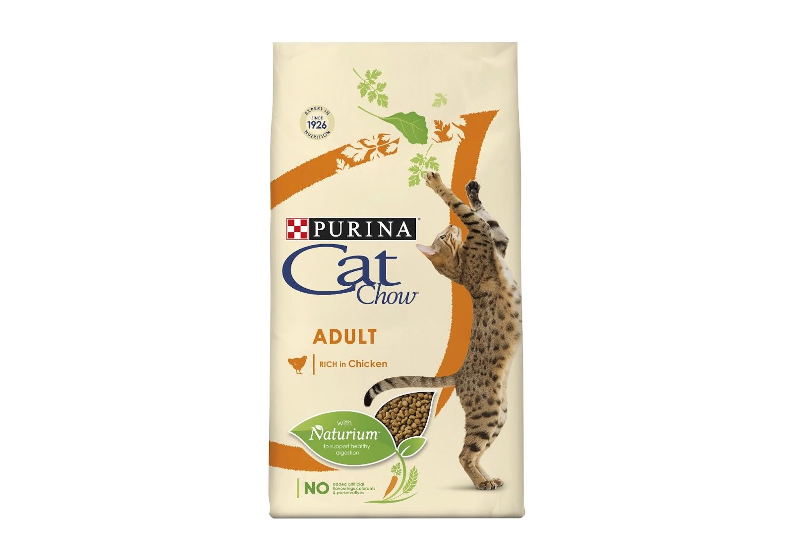 Purina Brand Natural Cat Food