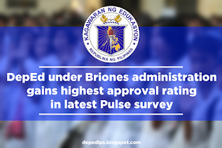 DepEd under Briones administration gains highest approval rating in latest Pulse survey