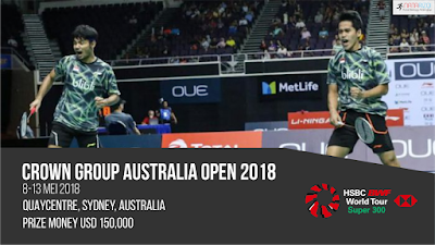 Jadwal Australia Open 2018