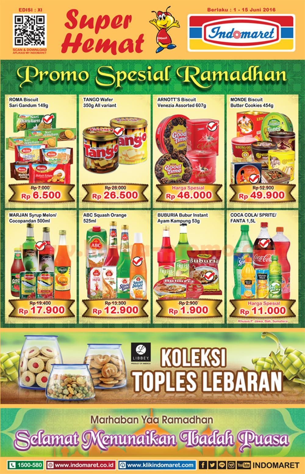 Katalog Indomaret Promo Indomaret Terbaru Periode 01 15 Juni 2016