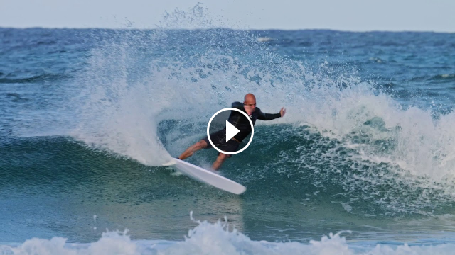 Kelly Slater And His 5-Fin Webber At D-Bah