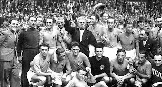 FIFA, World Cup, 1938, france, champions,winners, italy, hungry,  Vittorio Pozzo, fifa trophy