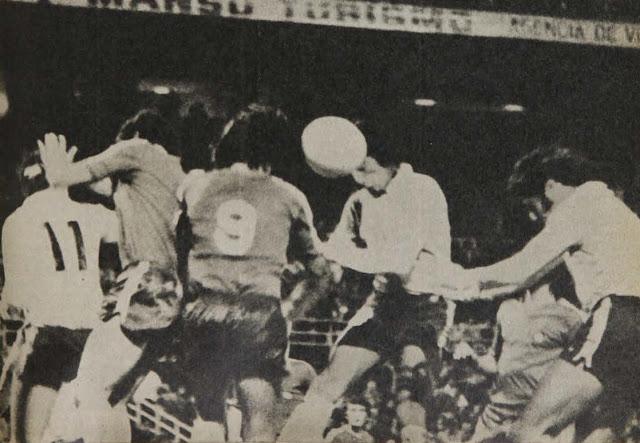 Chile y Argentina en Copa Carlos Dittborn 1976