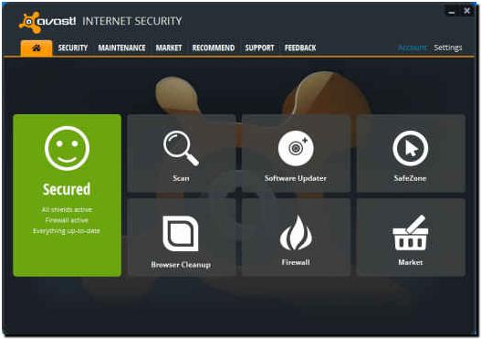 Avast Free Antivirus & Internet Security 2015 11 1 2241 1482
