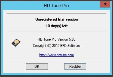 HD Tune Pro versão 5.60