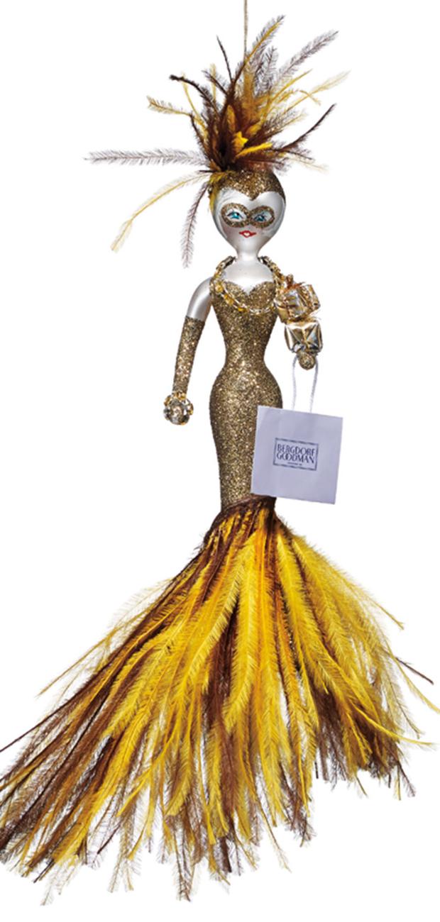 De Carlini Lifeball Linda 2015 Ornament