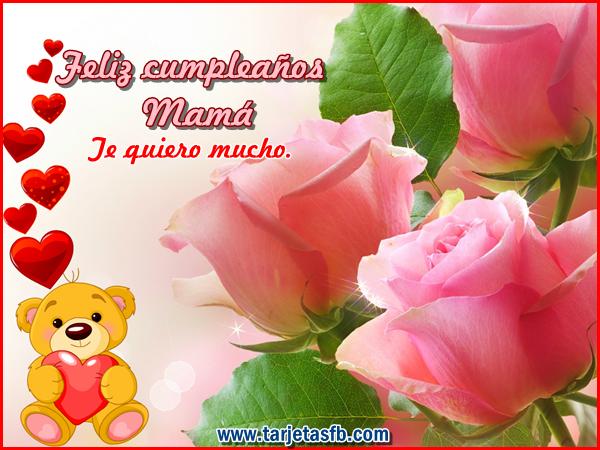 Tarjetas De Cumpleanos Para Mama Gratis Imagui