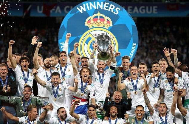 Liga Champions mejuarai semua ajang sepakbola