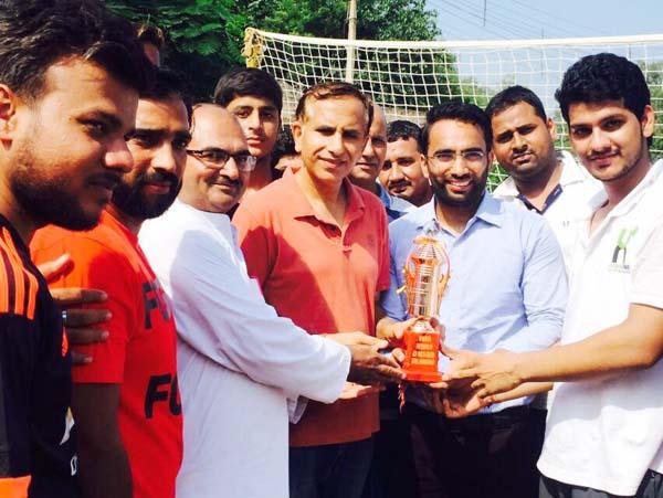 भाजपा युवा नेता साहिल नंबरदार ने वॉलीबॉल प्रतियोगिता का किया उद्घाटन