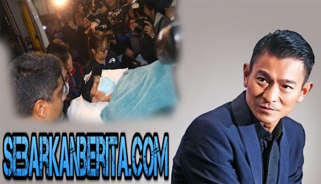 Aktor Hong Kong Andy Lau Terluka Setelah Terlempar Dari Kuda