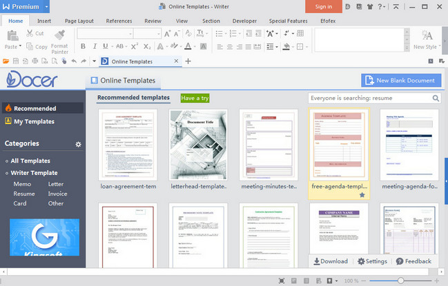 Wps Office 2016 Premium v10 1 0 5652 (Portable) New Version