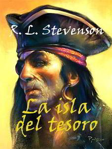 Portada del libro la isla del tesoro para descargar en pdf gratis