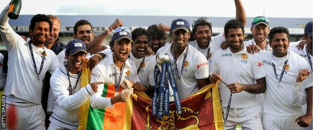 Sri Lanka beats England in thrilling second Test to seal series win