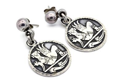743978d80b0d Tribal Coin Earrings