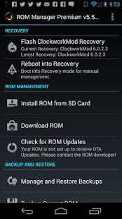 ROM Manager Premium Apk Full Version