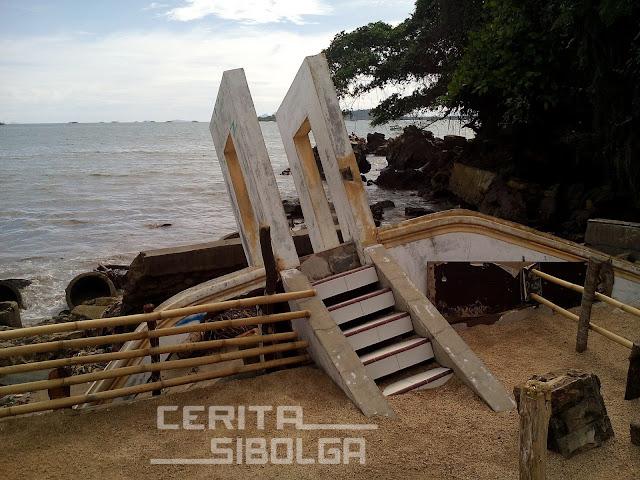 Kondisi Pantai Ujung Sibolga