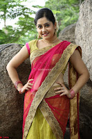 Actress Ronika in Red Saree ~  Exclusive celebrities galleries 031.JPG