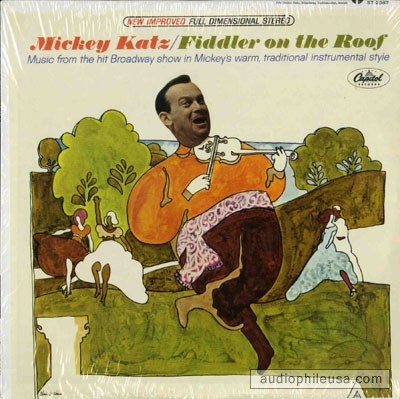 Boot Sale Sounds Mickey Katz Fiddler On The Roof