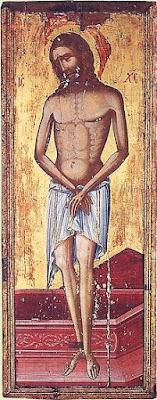 Икона Христос Во Гробе (Царь Славы)