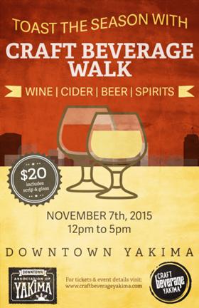 Yakima Craft Beverage Walk