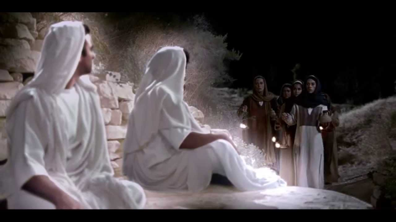 Anjos foram vistos no sepulcro do Senhor