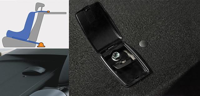 Móc ghế Isofix được trang bị tiêu chuẩn trên các dòng xe Toyota hiện nay