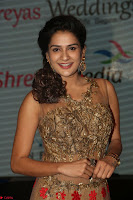 Jenny in brown transparent sleeveless anarkali dress at Shamanthakamani pre release function ~  Exclusive 044.JPG