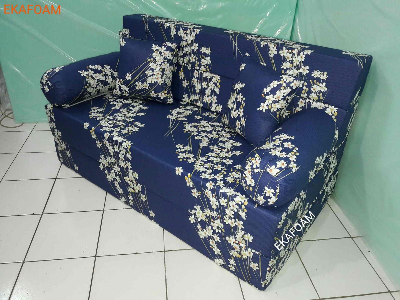 sofa bed inoac 3 in 1 u shaped uk motif keluarga dewasa agen resmi kasur