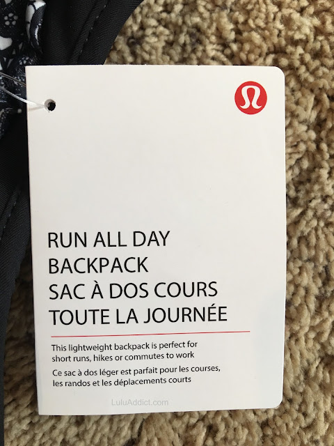 lululemon run-all-day-backpack tag