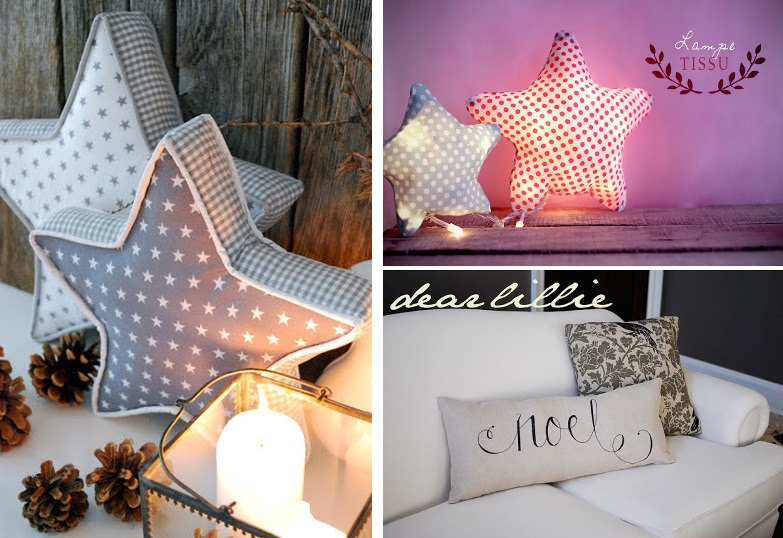 Diy 30 id es inspirantes pour un noel chic et lumineux bettinael passion couture made in france - Idee de couture ...
