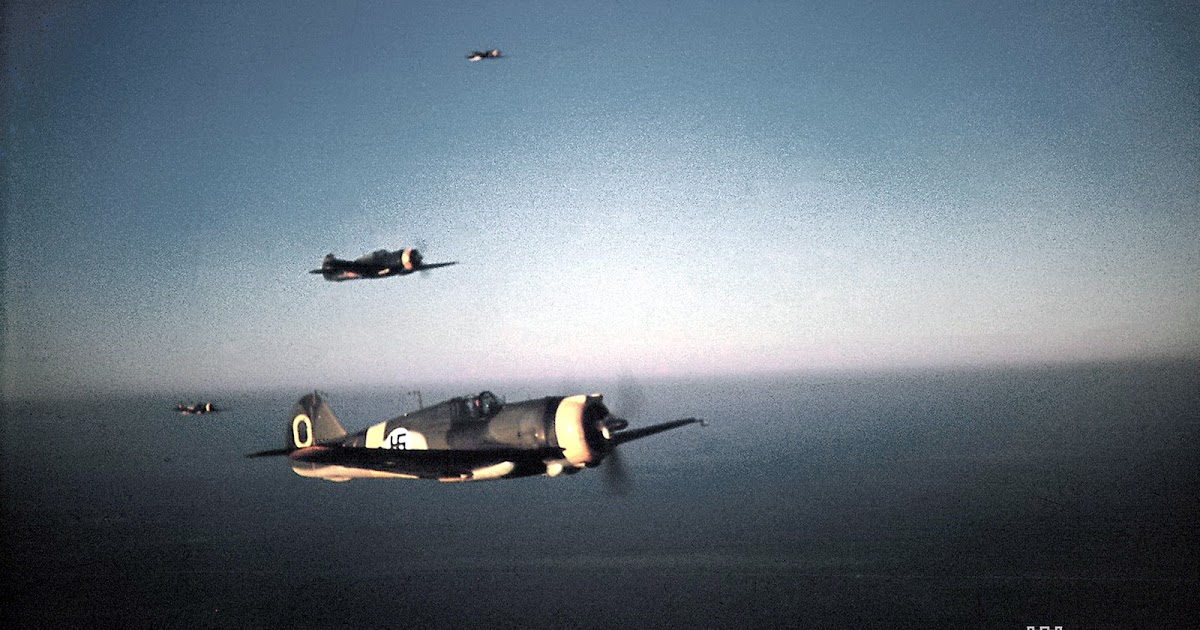 World War II in Color: A Curtiss Hawk Squad of Finnish Air Force