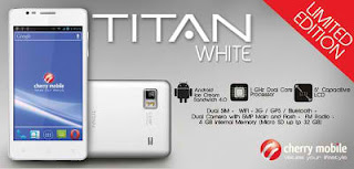 Cherry Mobile Titan White Limited Stock Only
