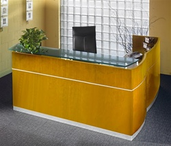 Napoli Reception Desk by Mayline