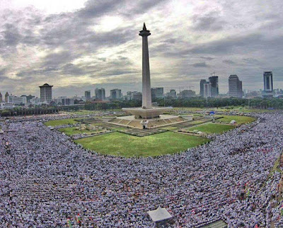 aksi super damai 212 di monas