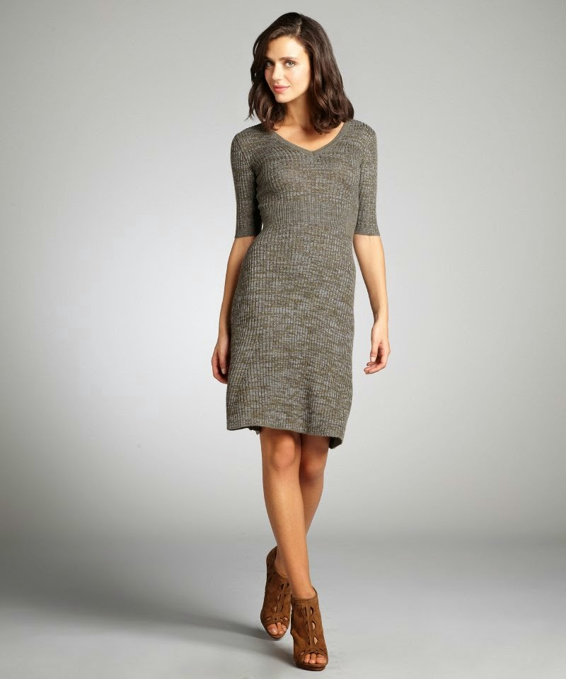 1.Stretch Sweater Dress Flexible Idea