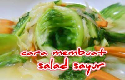 foto salad sayur