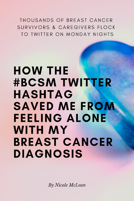 Join the #bcsm twitter chat on Mondays | FabulousBoobies.com