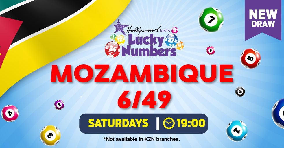 Hollywoodbets Sports Blog: Mozambique 6/49 - Lucky Numbers