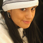 Andrea Rincon, Selena Spice Galeria 19: Buso Blanco y Jean Negro, Estilo Rapero Foto 56