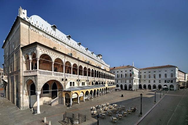 Palazzo della Ragione em Pádua na Itália