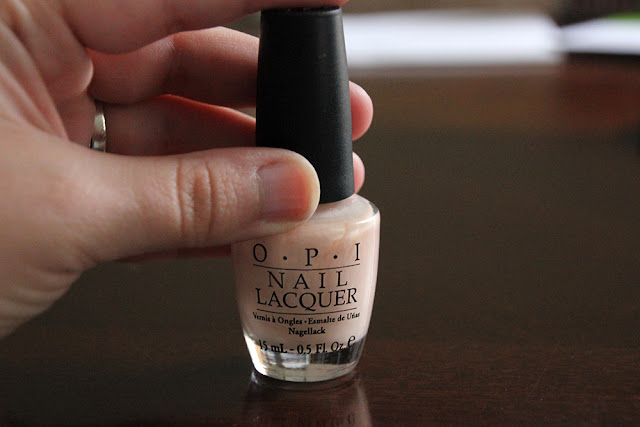 how to clean up finger nail polish from coffee table