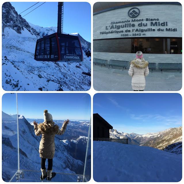 Chamonix Mont Blanc France Aiguille du Midi